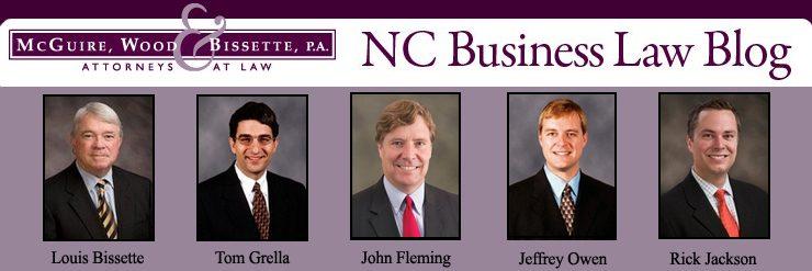 North Carolina Business Law Blog